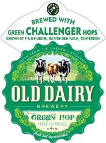 old dairy green hop logo