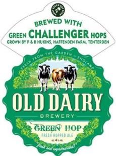 old dairy green hop logo