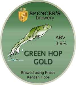 Spencer's green hop clip