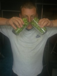 Sean makes the most of those amazing green hop aromas