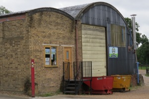 Old Dairy brewery is at home in two WW2 Nissen huts.