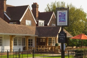 The Poacher & Partridge, Tudeley near Tonbridge is hosting the West Kent Green Hop Beer Festival