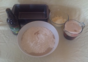 making-cheesy-beer-bread
